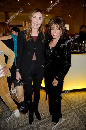 Guest and Joan Collins