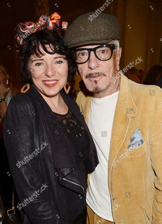Tara Newley and Nicky Haslam