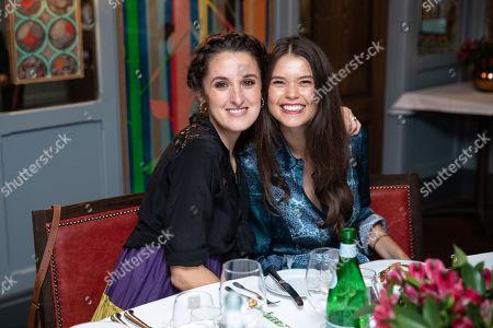 Rosanna Falconer and Sarah Ann Macklin
