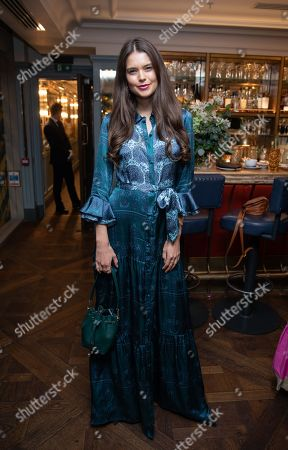 Editorial image of The Ivy City Garden x Elephant Family private dinner in London, UK - 30 Sep 2019.