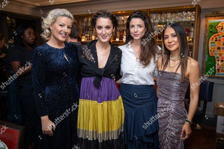 Natalie Rushdie, Rosanna Falconer, Shirley Leigh-Wood Oakes and Vicky Lee
