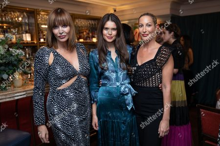 Editorial photo of The Ivy City Garden x Elephant Family private dinner in London, UK - 30 Sep 2019.