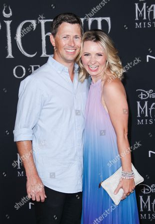 Michael Cameron and Beverley Mitchell