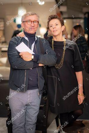 Stock Picture of Jasper Conran and Victoria Fernandez