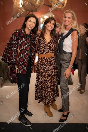 Elizabeth Murray, Tracy Francelet and Caroline Barclay
