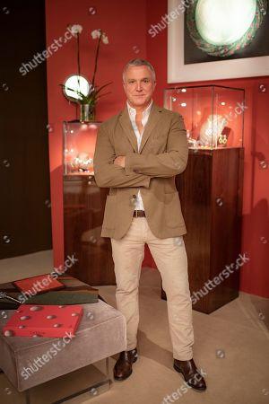 Stock Photo of James de Givenchy