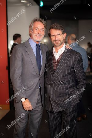 Tim Jefferies and Manfredi della Gherardesca