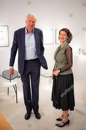 Henry Wyndham and Melanie Clore