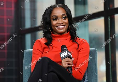 """Rachel Lindsay participates in the BUILD Speaker Series to discuss the television series """"The Bachelorette"""" at BUILD Studio, in New York"""