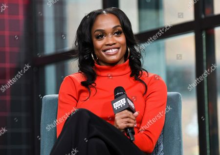 """Stock Photo of Rachel Lindsay participates in the BUILD Speaker Series to discuss the television series """"The Bachelorette"""" at BUILD Studio, in New York"""
