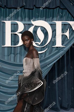 Editorial photo of BoF 500 Gala - Arrivals - Paris Fashion Week  S/S 2020, France - 30 Sep 2019