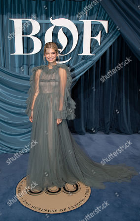 Editorial image of BoF 500 Gala - Arrivals - Paris Fashion Week  S/S 2020, France - 30 Sep 2019