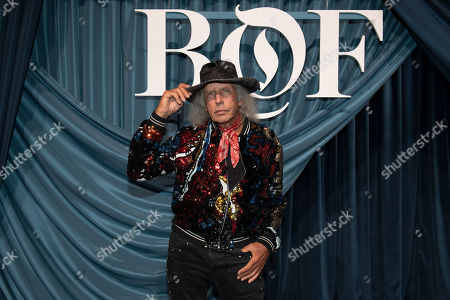 Stock Photo of US millionaire James F. Goldstein arrives for the Business of Fashion, BoF 500 gala held at the Hotel de Ville in Paris, France, 30 September 2019.