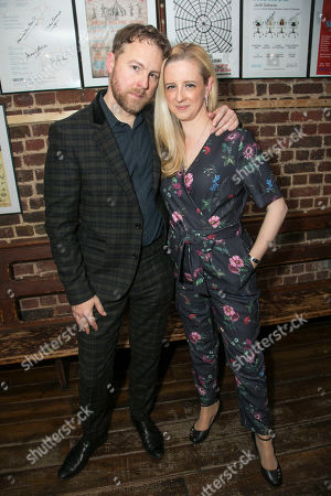 Stock Photo of Samuel West (Director) and Laura Wade (Author)