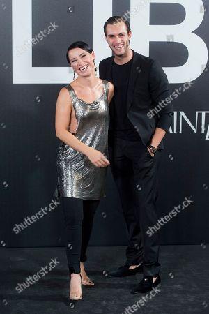 Stock Picture of Soraya Arnelas and Miguel Angel Herrera