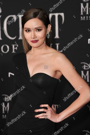 "Rhatha Phongam arrives at the world premiere of ""Maleficent: Mistress of Evil"", at the El Capitan Theatre in Los Angeles"