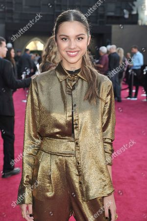 "Olivia Rodrigo arrives at the world premiere of ""Maleficent: Mistress of Evil"", at the El Capitan Theatre in Los Angeles"