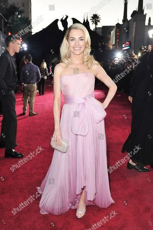 "Amanda Hearst arrives at the world premiere of ""Maleficent: Mistress of Evil"", at the El Capitan Theatre in Los Angeles"