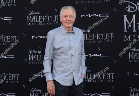 """Jon Voight arrives at the world premiere of """"Maleficent: Mistress of Evil"""", at the El Capitan Theatre in Los Angeles"""