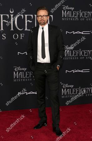 """Joachim Ronning arrives at the world premiere of """"Maleficent: Mistress of Evil"""", at the El Capitan Theatre in Los Angeles"""