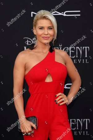 """McKenzie Westmore arrives at the world premiere of """"Maleficent: Mistress of Evil"""", at the El Capitan Theatre in Los Angeles"""