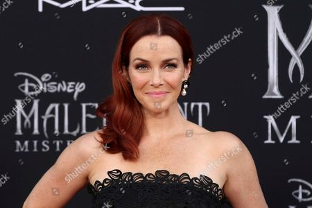 """Annie Wersching arrives at the world premiere of """"Maleficent: Mistress of Evil"""", at the El Capitan Theatre in Los Angeles"""