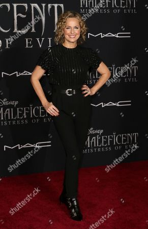 """Melora Hardin arrives at the world premiere of """"Maleficent: Mistress of Evil"""", at the El Capitan Theatre in Los Angeles"""