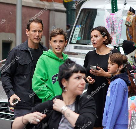 Editorial image of Patrick Wilson out and about, New York, USA - 30 Sep 2019