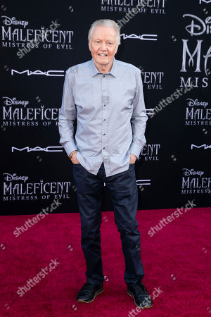 Jon Voight poses on the red carpet prior to the premiere of the film 'Maleficent: Mistress of Evil' at El Capitan Theater in Los Angeles, California, USA, 30 September 2019. The movie will be released in US theaters on 18 October.