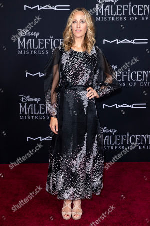 Kim Raver poses on the red carpet prior to the premiere of the film 'Maleficent: Mistress of Evil' at El Capitan Theater in Los Angeles, California, USA, 30 September 2019. The movie will be released in US theaters on 18 October.