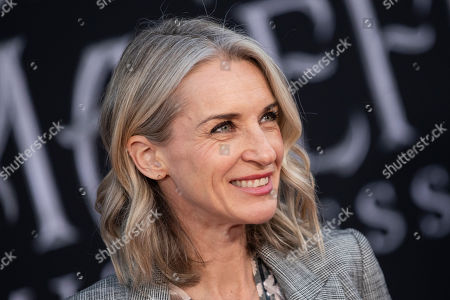 Ever Carradine poses on the red carpet prior to the premiere of the film 'Maleficent: Mistress of Evil' at El Capitan Theater in Los Angeles, California, USA, 30 September 2019. The movie will be released in US theaters on 18 October.