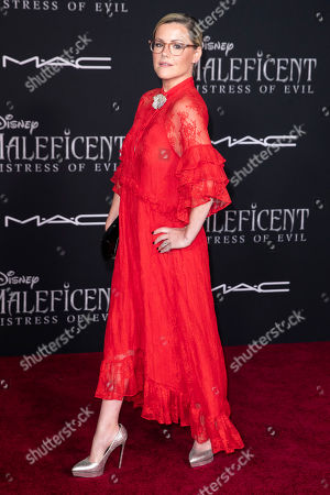 Kathleen Robertson poses on the red carpet prior to the premiere of Disney's 'Maleficent Mistress of Evil' at El Capitan Theater in Los Angeles, California, USA, 30 September 2019. The movie will be released in US theaters on 18 October.