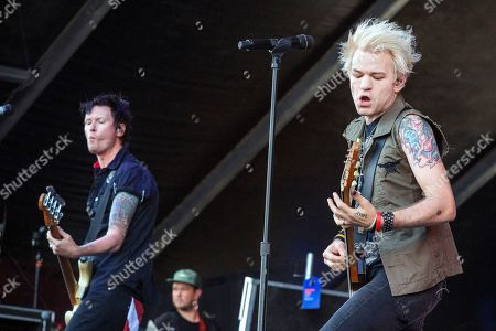 Stock Image of Sum 41 - Jason McCaslin and Deryck Whibley