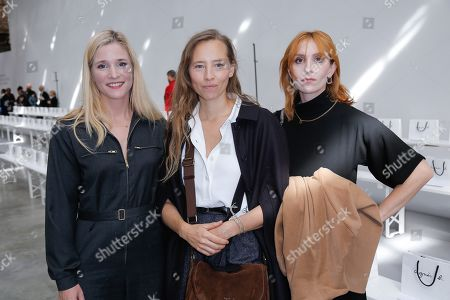 Stock Image of Natacha Reignier, Isild Le Besco and Lolita Chammah