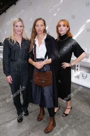 Stock Picture of Natacha Reignier, Isild Le Besco and Lolita Chammah