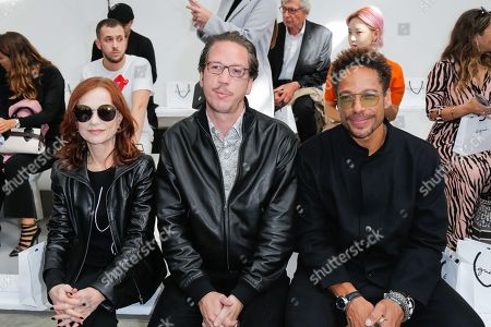 Isabelle Huppert, Reda Kateb and Gary Dourdan