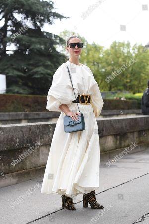 Editorial photo of Street Style, Spring Summer 2020, Paris Fashion Week, France - 29 Sep 2019