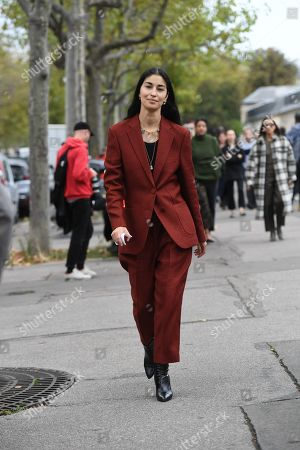 Editorial picture of Street Style, Spring Summer 2020, Paris Fashion Week, France - 29 Sep 2019