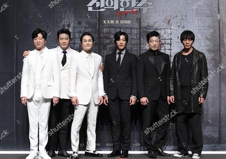 Kim Hee-won, Kwon Sang-woo, Kim Sung-kyu, Woo Do-hwan, Seong-tae Heo, Won Hyun-joon