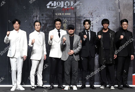 Stock Photo of Kim Hee-won, Kwon Sang-woo, Khan Lee, actor Kim Sung-kyu, Woo Do-hwan, Seong-tae Heo, Won Hyun-joon
