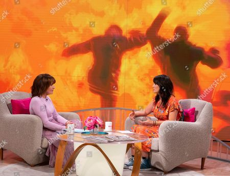 Editorial picture of 'Lorraine' TV show, London, UK - 01 Oct 2019