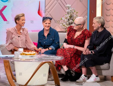 Editorial image of 'Lorraine' TV show, London, UK - 01 Oct 2019