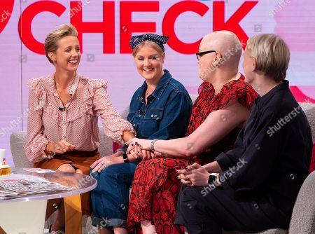Helen Addis with Amy Stott, Sinead Scott Lennon, Sally Nyland