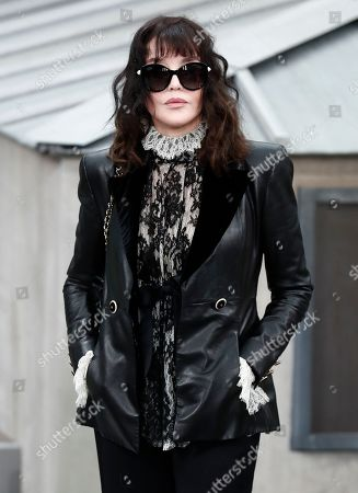 French actress Isabelle Adjani attends the presentation of the Spring/Summer 2020 Women's collection by French designer Virginie Viard for Chanel fashion house during the Paris Fashion Week, in Paris, France, 01 October 2019. The presentation of the Women's collections runs from 23 September to 01 October.