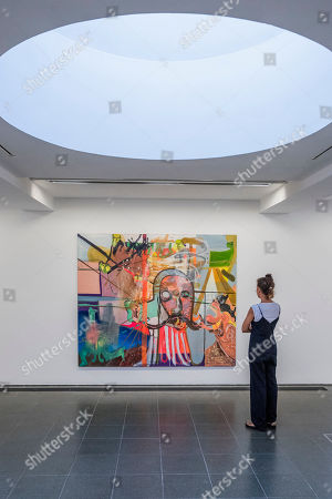 Editorial photo of Albert Oehlen exhibition, Serpentine Galleries, London, UK - 01 Oct 2019