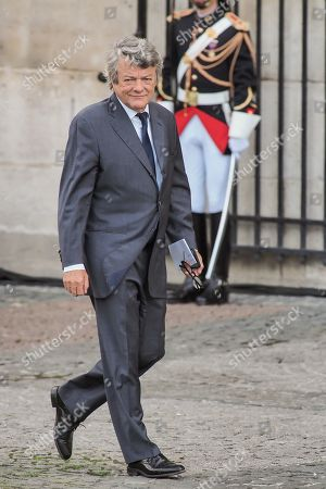 Jean-Louis Borloo attends the solemn service at St Saint-Sulpice church