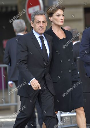 Editorial image of The funeral of former French president, Jacques Chirac, Paris, France - 30 Sep 2019