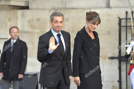 Editorial picture of The funeral of former French president, Jacques Chirac, Paris, France - 30 Sep 2019