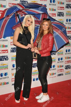 Danielle Harold and Maisie Smith