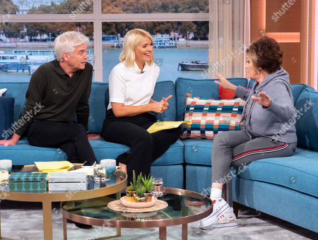 Editorial picture of 'This Morning' TV show, London, UK - 01 Oct 2019